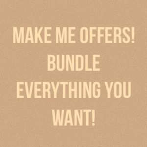 ❤I love to bundle and make deals❤
